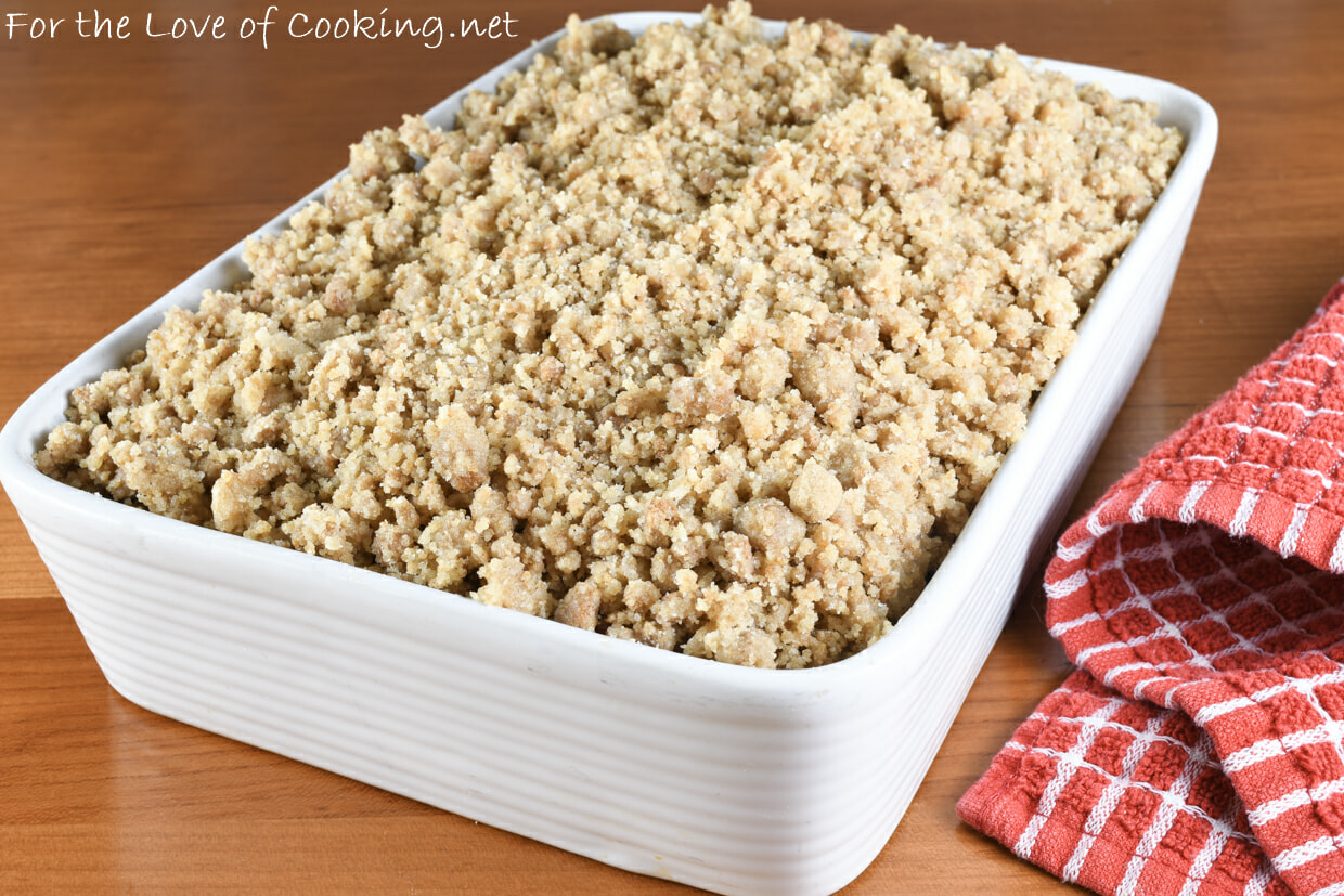 Pear Cranberry Gingersnap Crumble