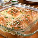 Soft Parmesan Dinner Rolls
