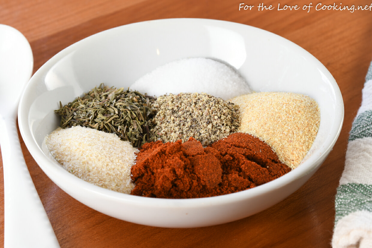 Spicy Dry Rub for Chicken