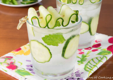 Cucumber Lime Vodka Fizz
