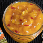 Skillet Peach Pepper Jam