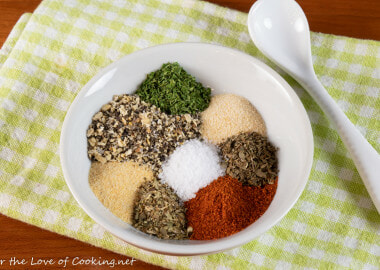 Lemon Pepper Herb Dry Rub