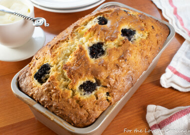 Blackberry Coconut Bread