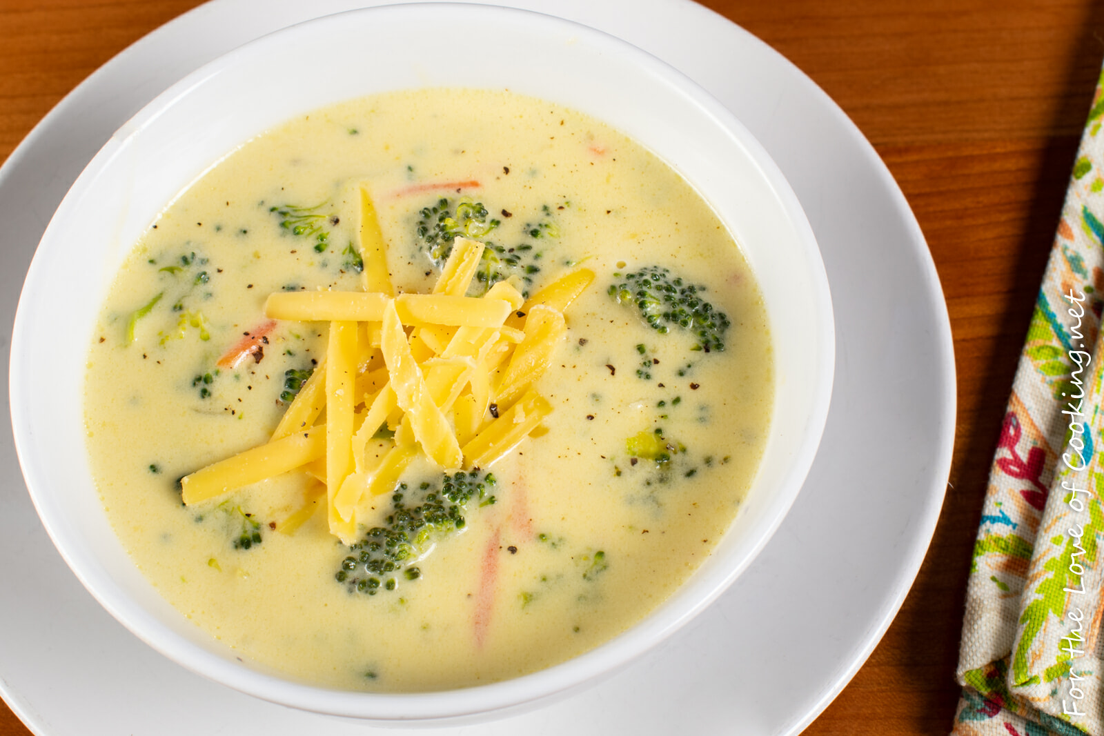 Broccoli Cheese Soup (Copycat Panera)