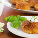 Cheesy Potato Croquettes