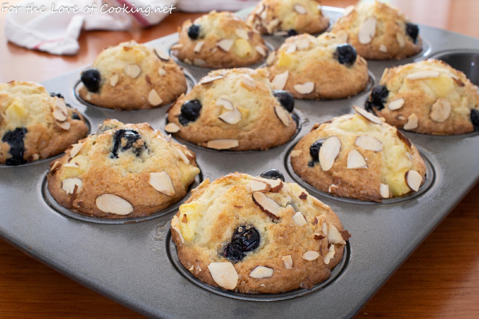 Blueberry-Nectarine Muffins