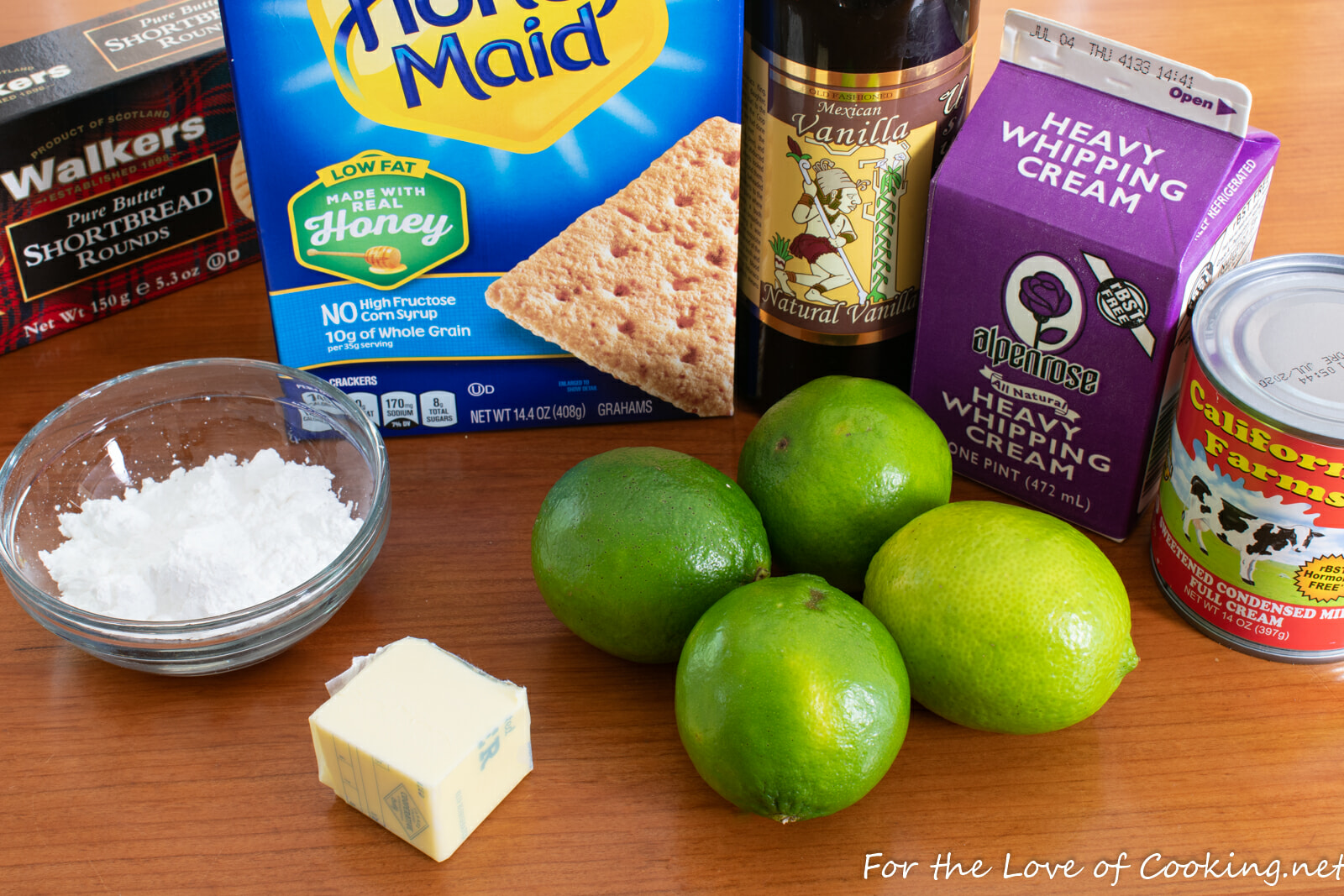 Lime Pie Parfaits