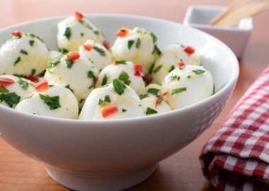 Marinated Mozzarella Balls