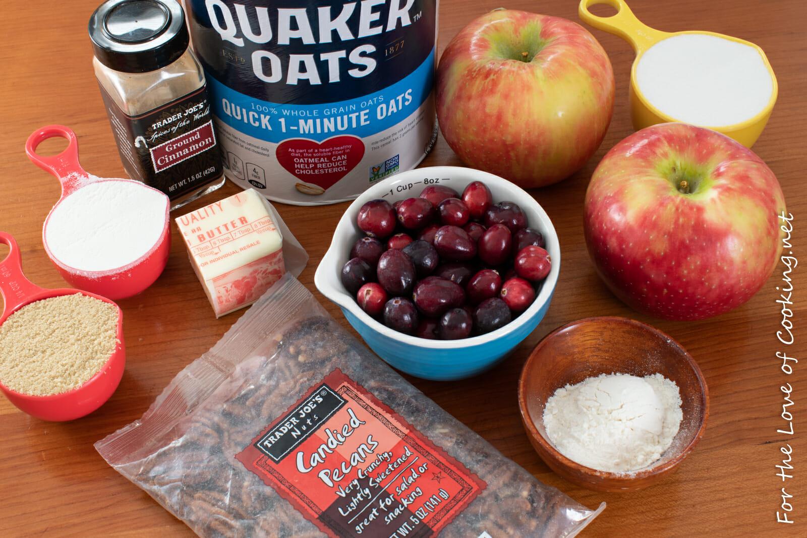 Mini Cranberry Apple Crisps