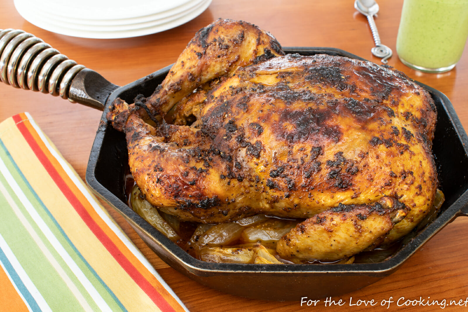 Peruvian-Style Roasted Chicken