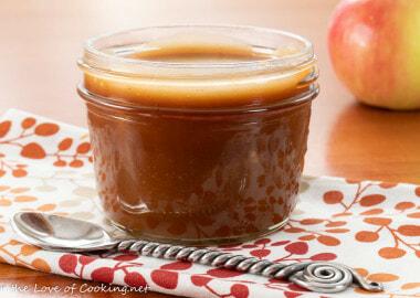 Apple Cider Caramel Sauce