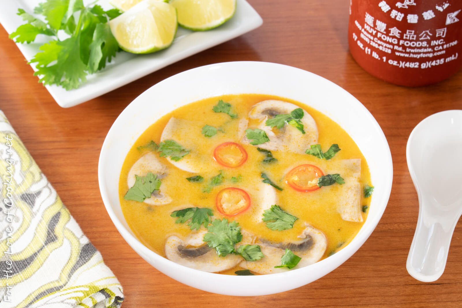Tom Kha - Thai Coconut Soup