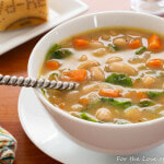 Mediterranean White Bean Soup