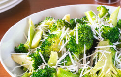Browned Butter Broccoli with Mizithra